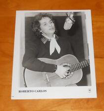 Roberto Carlos Photo Poster Original Promo 8x10 Brazilian Rock