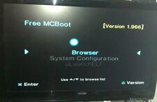 PS2 64mb FMCB v1.966 W/ 39 APPS!! CODEBREAKER 10!Cheat Device,NES,SNES,Atari,GBA