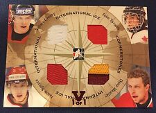 2015-16 Crosby Tavares ITG Final Vault 2006-07 International Ice Cornerstones