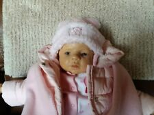 "OOAK Els Oostema ""Jan"" Polymer Clay Baby 22 inches"