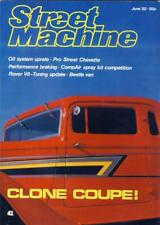 STREET MACHINE JUNE 85-ZZ TOP 33 PLYMOUTH-RAT CHEVETTE-WILLYS BEETLE PANEL MAG