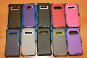 NEW Defender Case Series Cover For Samsung Galaxy (Clip Fits Otterbox Holster)