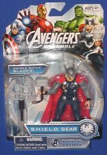 "Marvel Universe Avengers Assemble Thor 4"" Figure 2013 Hasbro MOC 1/18th SHIELD"