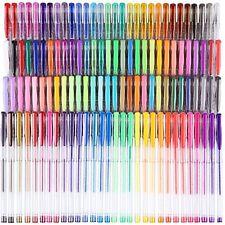 120 Colors Gel Pen Set Art Supplies Coloring Sketching Doodling Drawing Writing