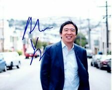 Andrew Yang Signed Autographed 8x10 Photograph 2020 Presidential Candidate