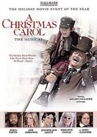 A Christmas Carol: The Musical (2004, DVD, Hallmark) Kelsey Grammer