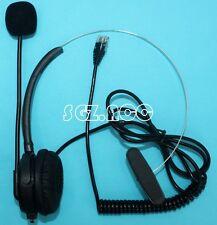 T100 Headset fit Avaya 1408 1416 2410 4610 4620 4625 4630 5410 5420 9504 & 9508