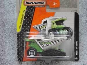 Matchbox 2014 #024/120 MBX TR 8800 Dump dozer green MBX Construction Case C