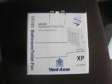 Vent Axia VA100 XP Panel Extractor Fan Bathroom Toilet Shutter Pullcord