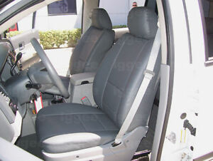 DODGE DURANGO 2011-2020 IGGEE S.LEATHER CUSTOM FIT SEAT COVER 13COLORS AVAILABL
