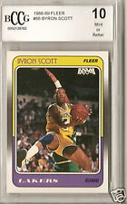 1988 FLEER BCCG 10 MINT BYRON SCOTT