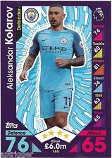 2016 / 2017 EPL Match Attax Base Card (165) Aleksandar KOLAROV Manchester City