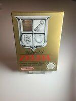Nintendo NES The Legend Of Zelda ESP-CIB Pal B (Map Missing)
