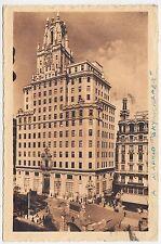 MADRID - Edifico de la Compania Telefonica - Spain - vintage used postcard