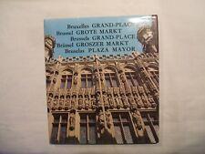 Bruxelles GRAND-PLACE - F. VAN DEN BREMT - Meddens - Relié avec jaquette - 1974