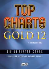Top Charts Gold 12 (mit 2 CDs) Neu! Die 40 besten Songs.. Hage 3966