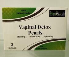 Vaginal Detox Pearls with Bonus - Vaginal Tightening Gel Single Unit
