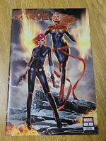 CAPTAIN MARVEL #1 UNKNOWN COMIC BOOKS EXCLUSIVE ANACLETO CVR A