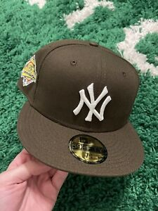 New York Yankees New Era 1996 World Series Brown Hat Pink Brim