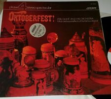 Oktoberfest! Will Glahe and His Orchestra SP 44145 Phase 4 Promotional Copy