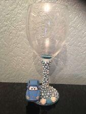 SALE!! Miss Sally Disney Figure Wine Glass Xx Porsche Xx Racing Car Xx