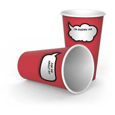 Fred And Friends Chit Chat Paper Cups