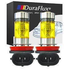 2 H8 H11 H16 3000K Yellow 100W High Power Samsung LED Fog Light Driving Bulb DRL