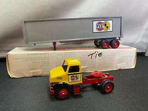 Winross TIE Tidewater Inland Express Tractor Truck With Trailer 1/64 Diecast