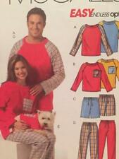 McCalls Sewing Pattern 5282 Mens Teens Misses Top Shorts Size Xs-md Damaged
