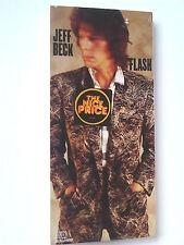 Jeff Beck ~ FLASH ~ cd 1985 NEW LONGBOX (long box) Rod Stewart.Jan Hammer