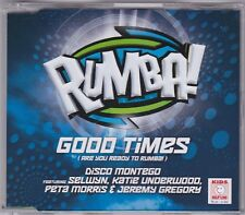 Good Times - (Are You Ready To Rumba) - CD (4 x Track Australia)