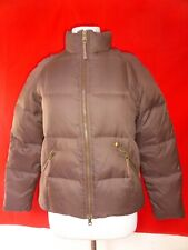 UGG Australia Brown Womens Puffer Goose Down Jacket Coat sz S Small