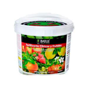Engrais / Fertilisant granulé de Batlle pour agrumes et arbres fruitiers (5kg)