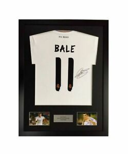 Frame For Any Signed Football Shirt & any 2 photos inc personalised plaque
