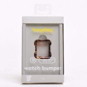 Heyday Watch Bumper for Apple Watch Series 2 & 3 - Tort Brown