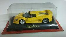 Ferrari F50 Jaune Ech : 1:43 Altaya sous blister