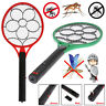 Handheld Bug Zapper Racket Electric Mosquito Fly Swatter Killer Insects Bat