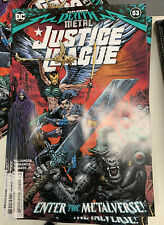 Justice League #53 Nm Cover A Sharp Death Metal Doom Metal 9/15 2020