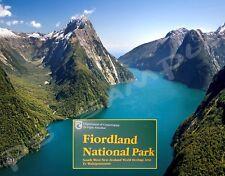 New Zealand - FIORDLAND NATIONAL PARK - Travel Souvenir Flexible Fridge Magnet