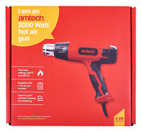 2000W 2 Heat Settings Hot Air Gun Amtech V6035