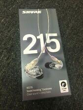 Shure SE215-CL Sound Isolating Earphones (Headphones) w/ case *NEW