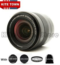 EF-M 18-55mm f/3.5-5.6 STM IS Lens for Canon EOS M M3 M5 M6 M100 M10 M50 Cameras