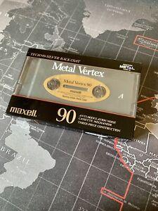 Maxell MV 90 Metal Vertex Sealed Rare Mint