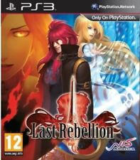 Last Rebellion (PS3) PS3 VERY GOOD CONDITION ORIGINAL GAME CASE WITH MANUAL