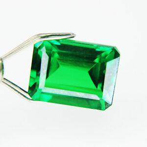 7.95 Ct Natural Tsavorite Garnet Green Emerald Shape CCGL Certified Loose Stone