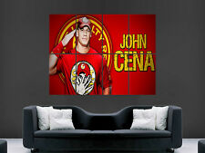 John cena wwe wrestling giant poster print sport usa photo grand
