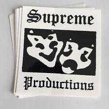 Supreme Productions Sticker 100% AUTHENTIC SUPREME STICKER