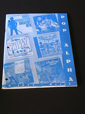 POP ALPHA Catalogue 1995 SONY Music Distribution for Field Sales Reps