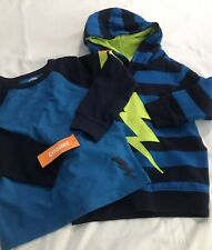 Gymboree Toddler Boy Bolt Hoodie And T Shirt 3T NWT