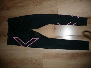 2XU compression leggins. wmn. black. size S